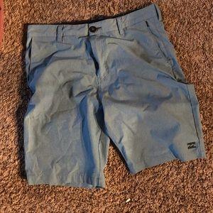 Billabong shorts convertible to swim trunks